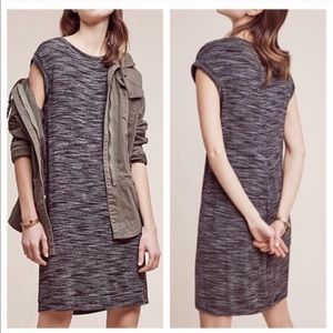 Anthropologie Cloth and Stone Knit Shirt Dress XS